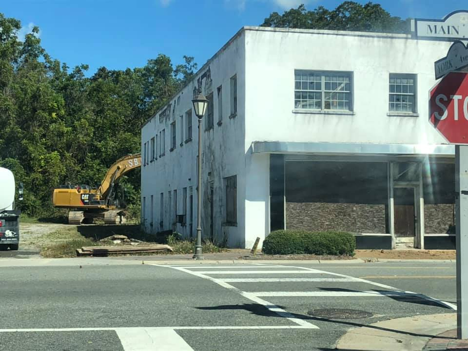 Booker Property building removal 1