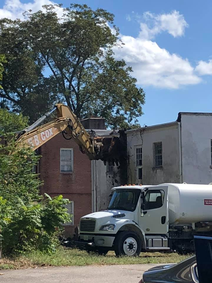 Booker Property building removal 3