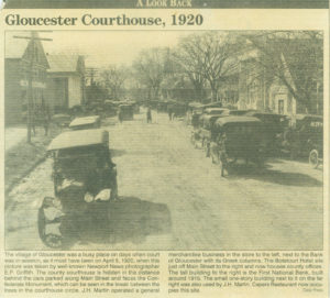 Gloucester Courthouse 1920